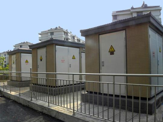 箱式变电站在小区住宅中的应用图片